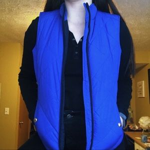 Ralph Lauren Royal Blue Puffer Vest